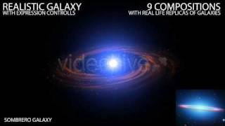 After Effects Professional Template: Realistic Galaxy