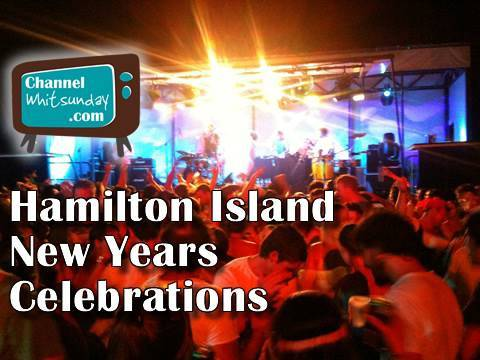 Hamilton Island News Years celebrations, Whitsundays, Great Barrier Reef