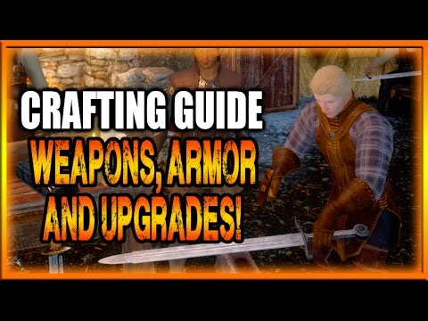 Dragon Age Inquisition Guides - Crafting Weapons. Armor and Upgrades!