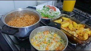 Almoço simples de segunda-feira l NAIARA FONTINI