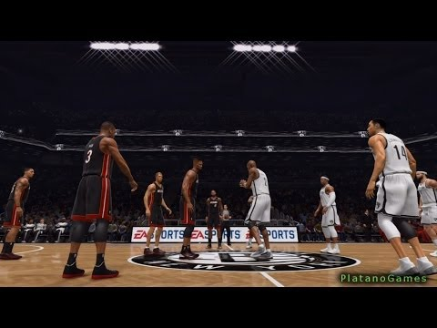 NBA Playoffs - Miami Heat vs Brooklyn Nets - Game 4 - 1st Half - Live 14 - HD