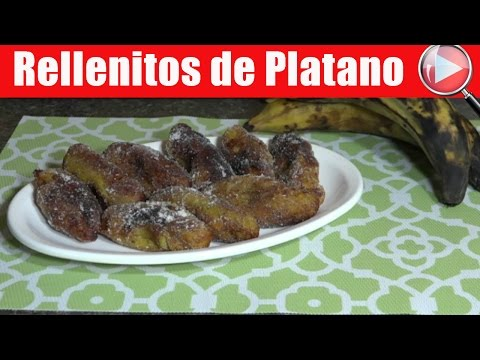 Rellenitos de Platano / Receta Guatemalteca - Recetas en Casayfamiliatv