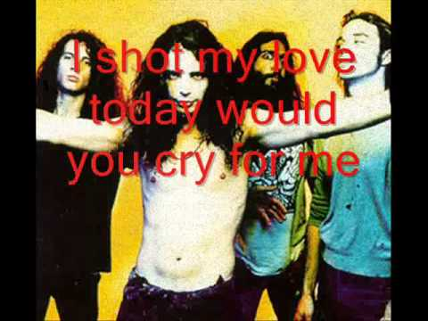 Soundgarden - Burden In My Hand (Lyrics)