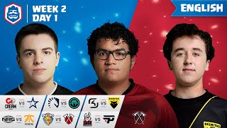 Clash Royale League: CRL West Fall 2019 | Week 2 Day 1! (English)