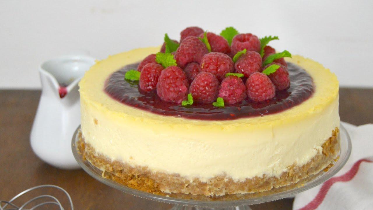 New York Cheesecake O Tarta De Queso Americana La Mas
