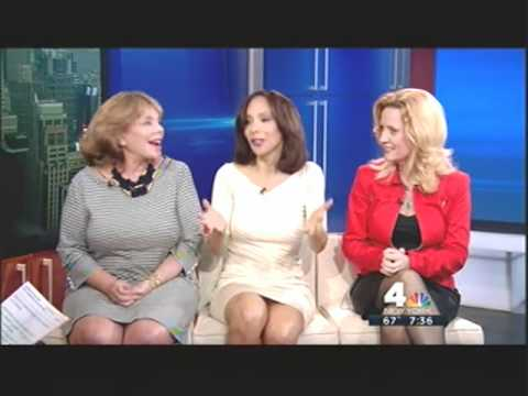 Lynne White ALMOST UPSKIRT 6/6/12 Power Panel, New York Nightly News