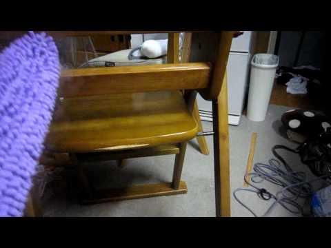 シャークスチームモップポータブルで子供用の椅子掃除