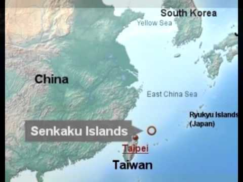 Volcano Me Japan China Senkaku Island Dispute