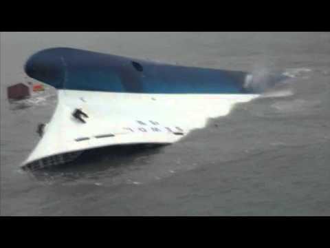 Raw: Ferry Sinks Off South Korean Coast