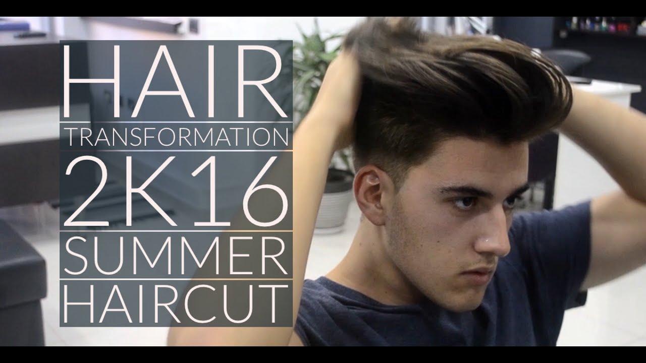 V haircut mens