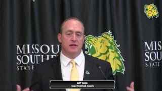 Missouri Southern Football Press Conference