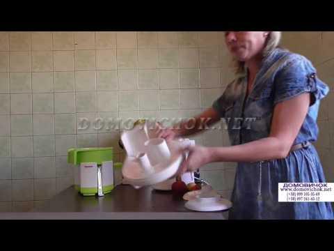 Соковыжималка для яблок Родничок - 50 кг яблок в час