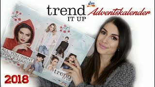 Really??...😲 dm Trend it up Adventskalender 2018 UNBOXING + Verlosung