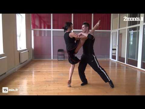 """Ala Karpenko ir Mantas Stonkus """"Kviečiu šokti. Pažadinta aistra"""" repeticijoje"""