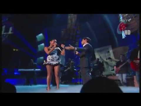Marc Anthony ft Natalia Jimenez (la 5ta estacion) RECUERDAME! (premios juventud).wmv