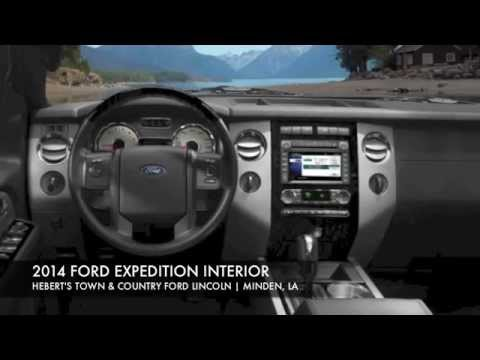 2014 FORD EXPEDITION INTERIOR IN MINDEN, LA