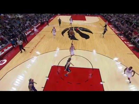 Toronto ganó y Scola apareció en una de las mejores jugadas del día de la NBA