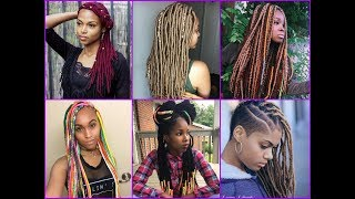 35 Amazing Yarn Braids Hairstyles for African American Womens