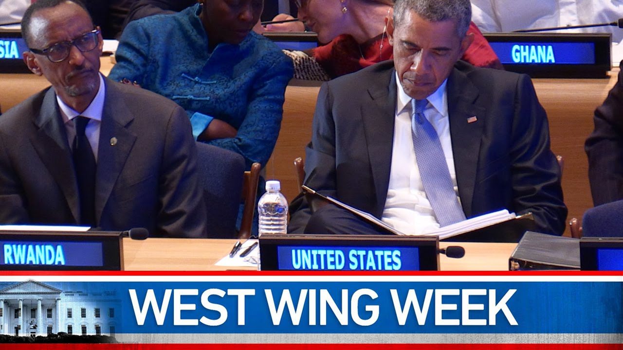 "West Wing Week 10/2/2015 or ""Make It Matter"""