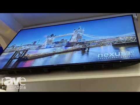 CEDIA 2016: Nexus 21 Shows CL-65 Flip Down Lift