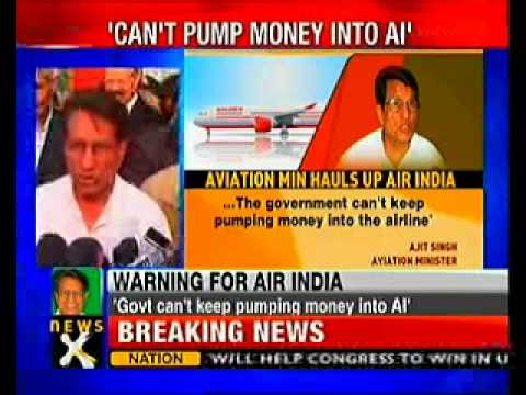 Govt can't keep pumping money into Air India: Aviation Minister
