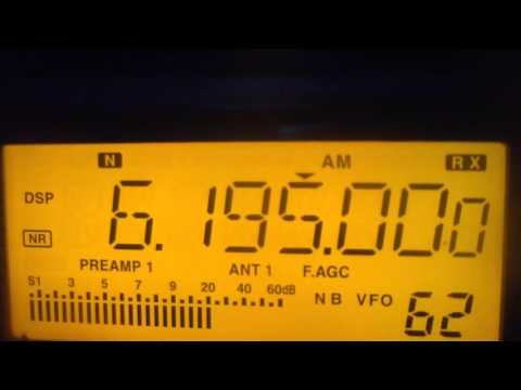 6195 kHz NHK World Radio Japan in Spanish Language via Cypress Creek , USA