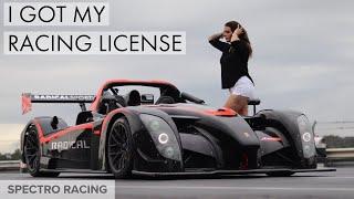 I got my Racing License! - Primal Racing School
