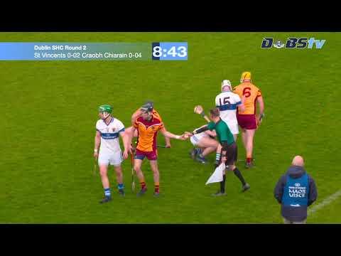 Dublin SHC 'A' Round 2   St  Vincents v Craobh Chiarian