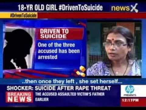 West Bengal: Three Youth Threatened To Rape 18 Year Old Girl video