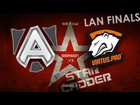 DOTA2 SLTV S6 Lan Finals Alliance vs Virtus Pro Game 1