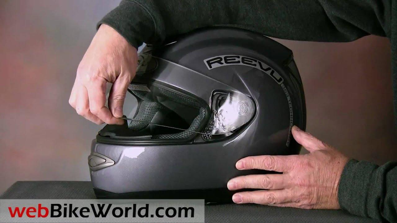 Reevu Msx1 Rear View Mirror Motorcycle Helmet Youtube