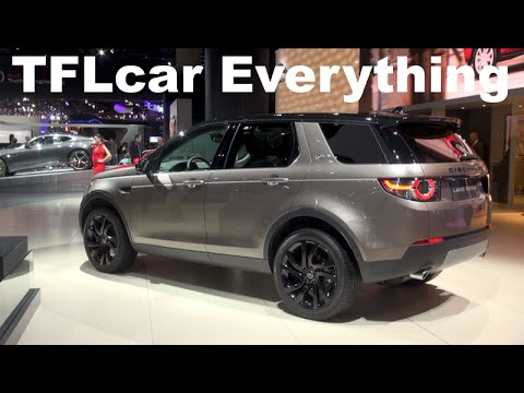 2016 Land Rover Discovery Sport: Almost Everything You Ever Wanted to Know