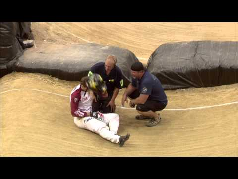 Strombergs Out At Semi Final Stage - 2014 Bmx World Championships video
