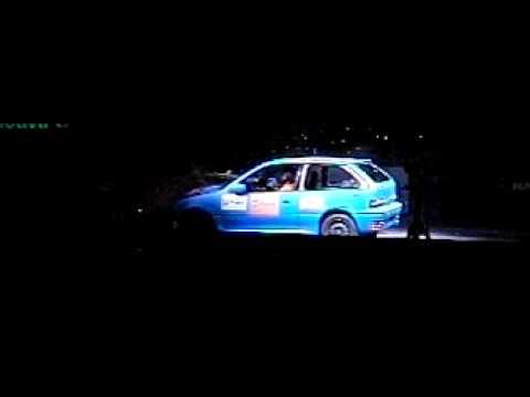 crash test seat marbella vs suzuki swift / geo metro youtube