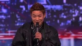 America's got talent - Matrix dance (unbelievable) !  kenichi Ebina