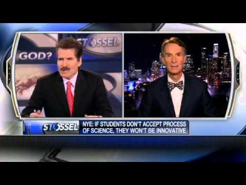 John Stossel - Science vs. God: Big Bang, Intelligent Design, Bill Nye, Democide, Charity 12/13/2012