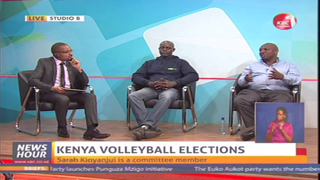 Sports Interview on Kenya Volleyball Elections
