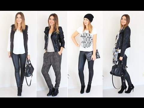 LOOKBOOK HERBST / WINTER 2014 Fashion Haul | H&M Primark Vero Moda