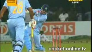 India vs Sri Lanka T20-20 Highlights Cricket 2009 part2