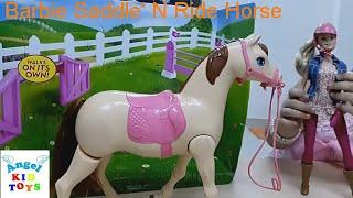 Đồ Chơi Búp Bê Barbie Cưỡi Ngựa Barbie Saddle 'N Ride Horse