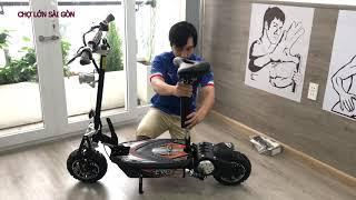 Khám Phá Xe Điện Electric Scooter EVO Mạnh Mẽ Mọi Địa Hình