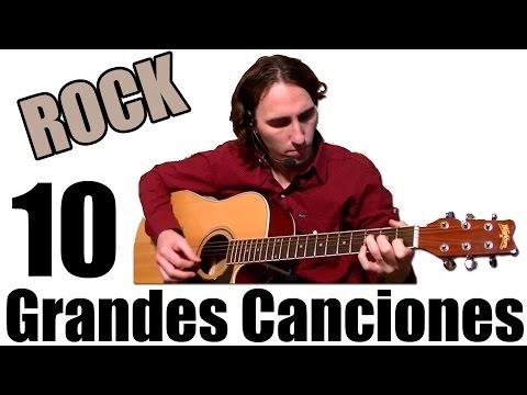 Aprende 10 Grandes Canciones De Rock Fáciles En Guitarra Acústica TCDG