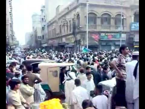 Baloch Power Against MQM  Altaf  Bharwa In Karachi