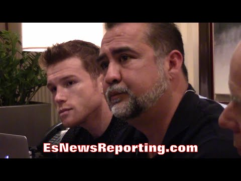 """CANELO: """"NOT WORRIED"""" ABOUT MAYWEATHER'S POTENTIAL SEPTEMBER IN RING RETURN - EsNews Boxing"""