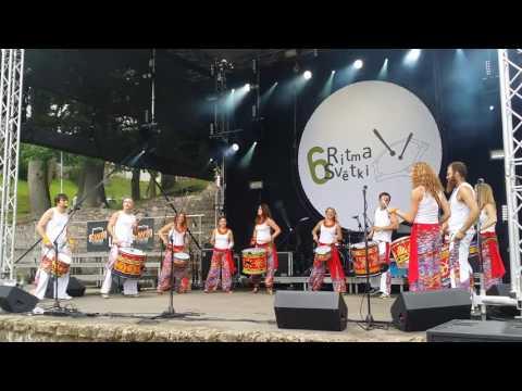 Samba De Riga. Cēsis 23.07.2016