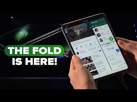 Watch Samsung unveil the Galaxy Fold