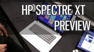 HP Spectre XT TouchSmart hands-on - the 15 inch HP Spectre XT