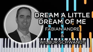 Dream A Little Dream Of Me Jazz Piano Solo Tutorial
