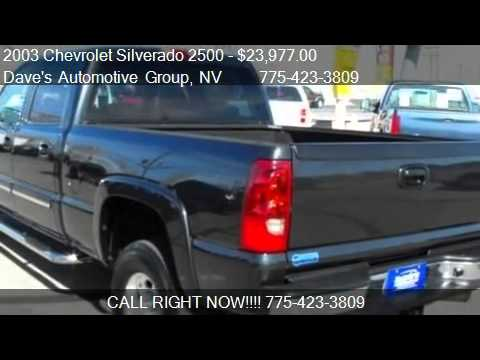 2003 Chevrolet Silverado 2500 LT - for sale in Fallon, NV 89