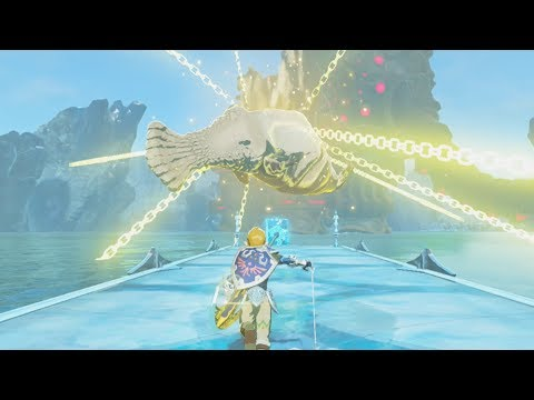 Can Molduga Swim in Zora's Domain? - Zelda Breath of the Wild